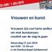 Vrouwen en kunst -  Woensdag 27 juni 2018 Zaltbommel