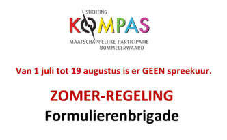 Flyer Formulieren Brigade zomerperiode 2018 copy