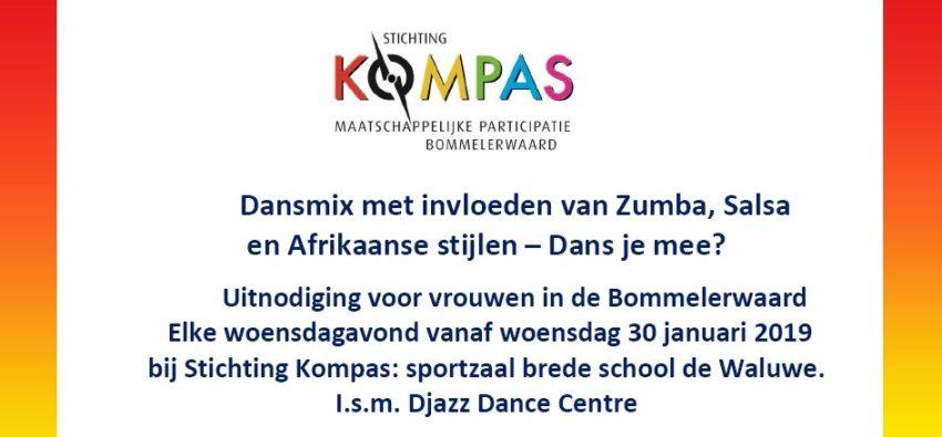 Kompas Dansmix met invloeden van Zumba Afrikaans